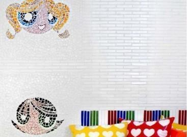 Mosaicos com temas infantis