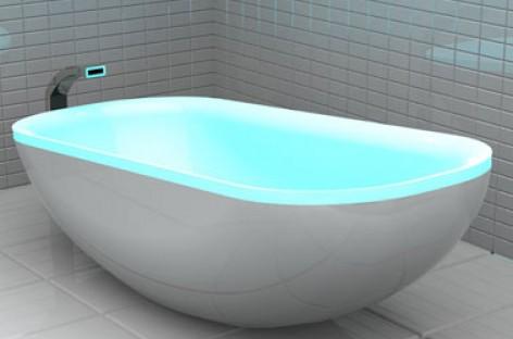 Home spa com LED