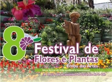 8º Festival de Plantas e Flores de Embu das Artes