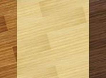 Revestimento vinílico para o piso