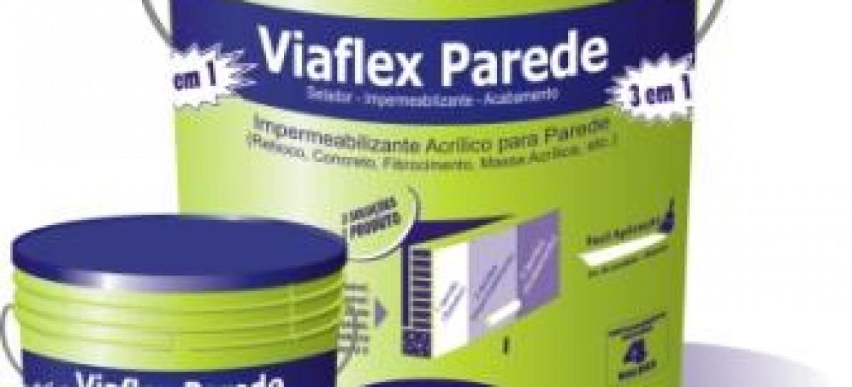 Viaflex Parede: chega de infiltrações