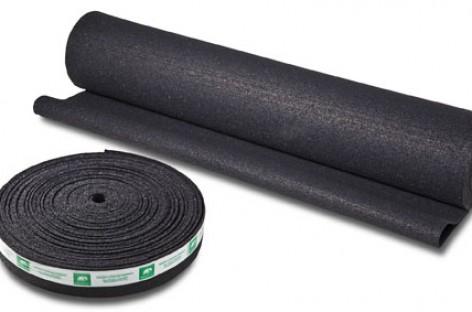 Manta Acústica feita de pneu reciclado oferece tratamento acústico