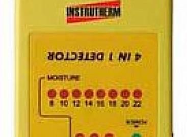 Detector de metais e fiação elétrica