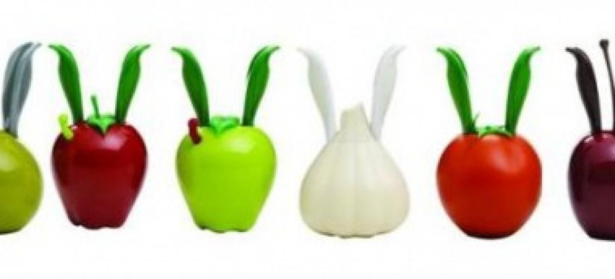 Moedores de pimenta com design bem-humorado
