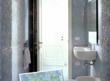 Requinte no banheiro com pastilhas italianas