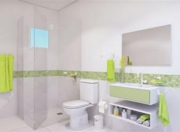 Kit para banheiro com fácil instalação