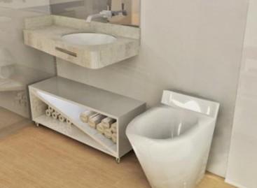Vaso sanitário de Corian
