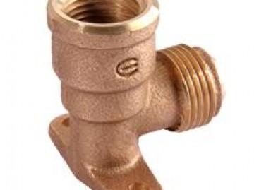 Conexões flangeadas de cobre