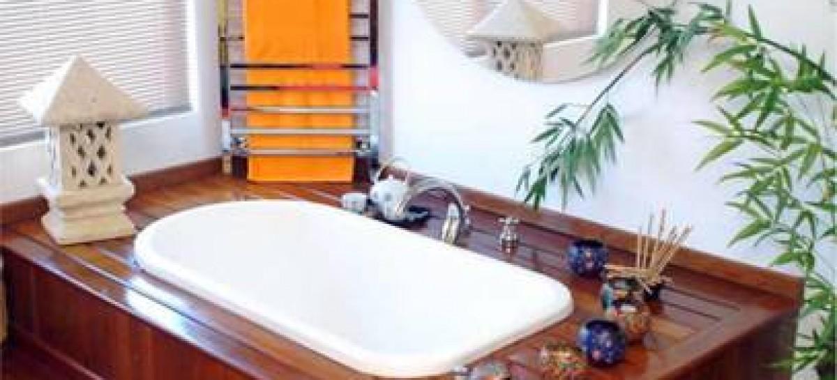 Chuveiro e toalheiro tecnológicos