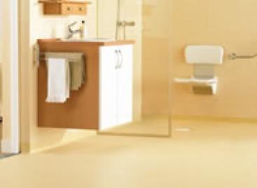 Wetroom: revestimento de vinil para banheiros