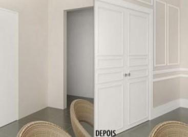 Rodapés para portas e paredes