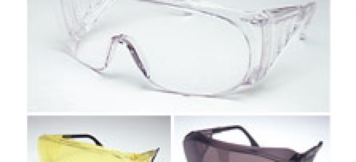 Óculos de proteção para o trabalho seguro