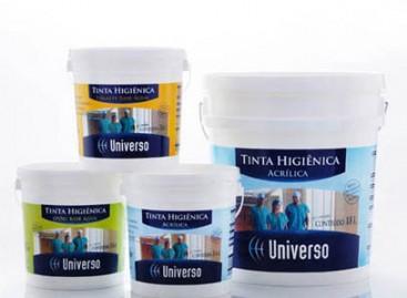 Tintas higiênicas contra micro-organismos