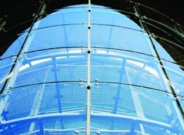 Vidros temperados para a construção civil