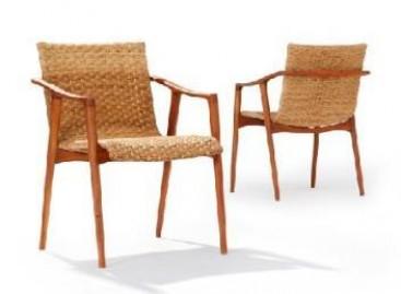 Cadeira com design sustentável