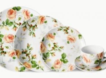 Porcelanas com inspiração italiana