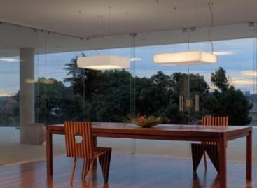 Pendente com design minimalista premiado