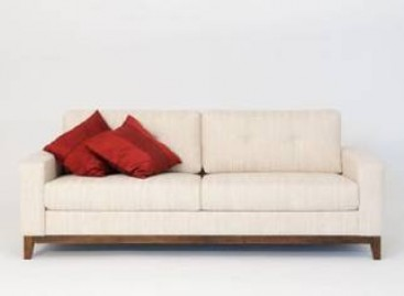 Poltronas e sofás minimalistas são tendência