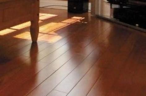 Assoalhos de madeira para áreas internas