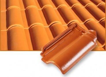 Telhas de cerâmica com ventilação