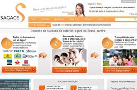 Site para crédito imobiliário