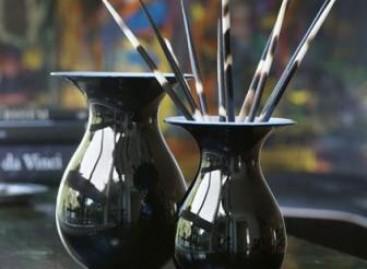 Vasos com design escandinavo