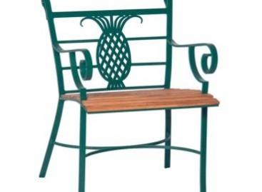Cadeira de alumínio para áreas externas