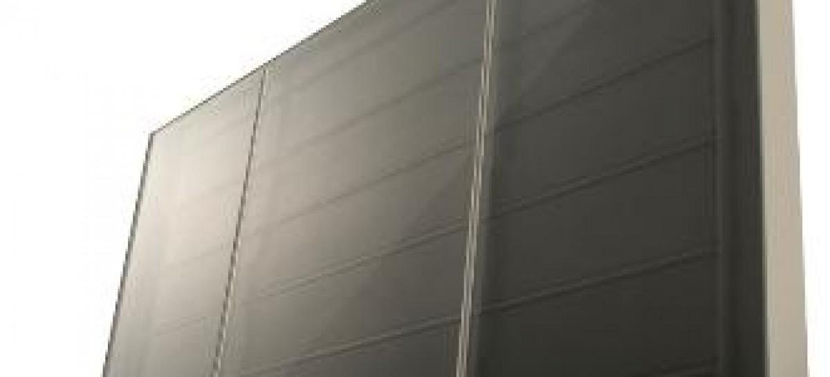 Coletor solar para obras de grande porte