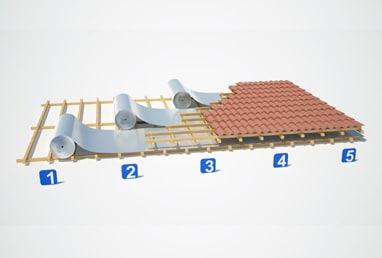Como instalar manta no telhado