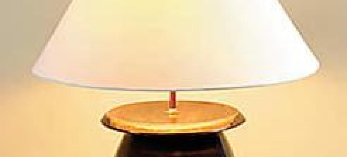 Abajures de cerâmica
