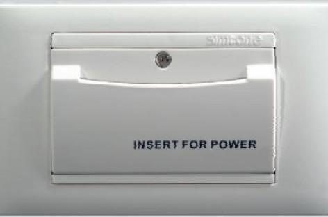 Interruptor por Cartão Simon