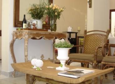 O charme das mesas de madeira