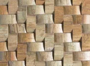 Mosaico de bambu