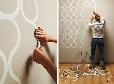 Um papel de parede totalmente personalizado