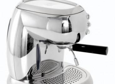 Cafeteira cromada