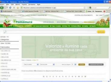 Lustres Yamamura agora em loja virtual