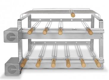 Kit giratório para churrasqueiras