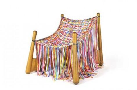 Uma cadeira que evidencia a cultura brasileira