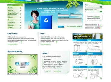 Novo site Mizumo