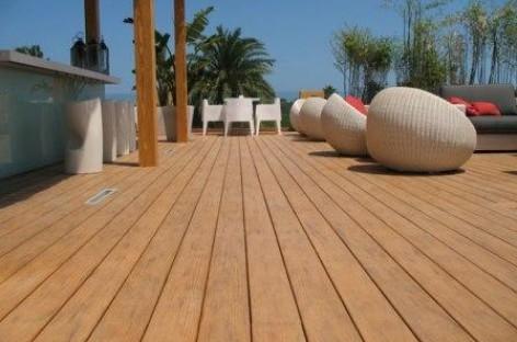 Deck ecológico
