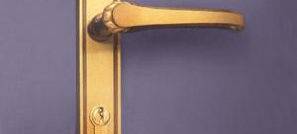 Maçaneta com design antigo