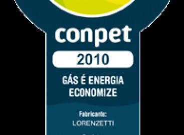 Selo Conpet de Eficiência Energética