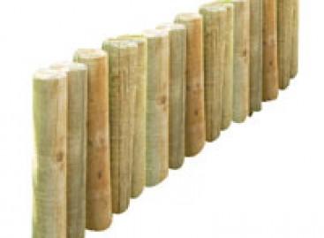 Delimitador de madeira Redondo