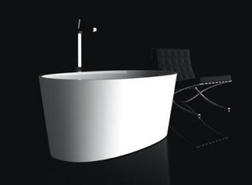 Banheira luxuosa para pequenos espaços