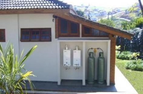 Aquecedor de água a gás
