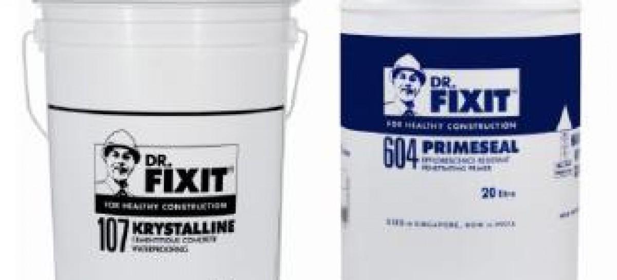 Impermeabilizantes para coberturas e caixas d'água