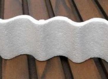 Placas para isolamento térmico de telhados