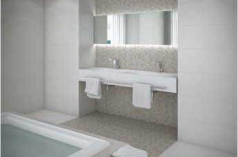 A beleza da fibra e a praticidade do porcelanato em um só piso