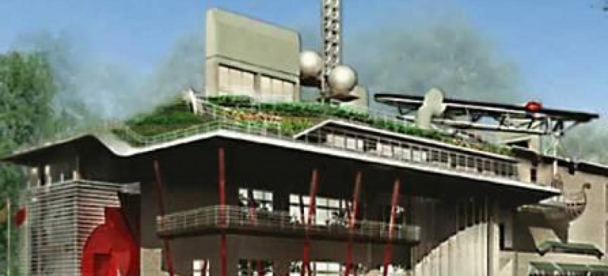 1º prédio ecologicamente correto de Taiwan