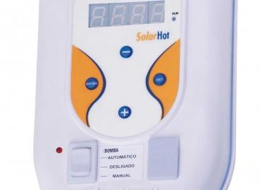 Temperatura da água controlada digitalmente